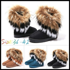 ankle boots, Womens Boots, fur, Winter