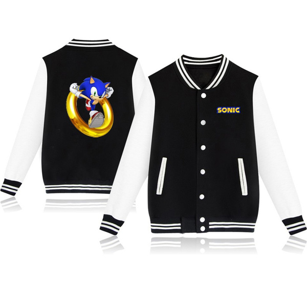 Sonic The Hedgehog Boys Jacket T Shirt Kids Cotton Clothes 2 13 Age Children Baseball Uniform Outwear Girls Pink Cardigan Wish