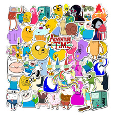 Bicycle, Sports & Outdoors, Stickers, adventure time