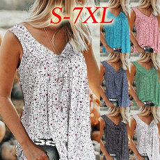 Summer, Plus Size, tunic, Tops