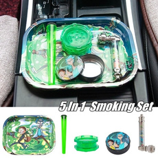 Box, grinder, tobacco, smokingpipe
