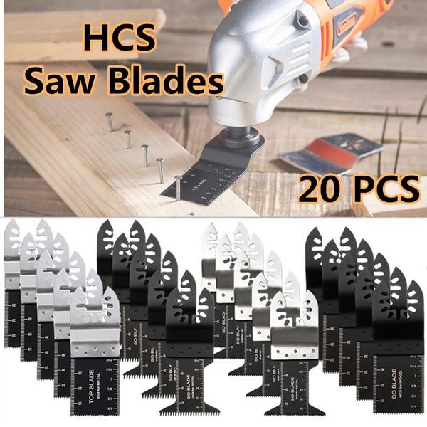 "10 Bi-Metal /""Nail Eater/"" Oscillating Saw Blades Bosch Multi-X Compatible"