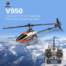 rcairplane, 3d6gsystemswitchedhelicopter, Children's Toys, wltoysv950