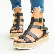 Summer, Plus Size, flatsandal, Slippers