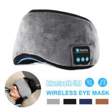 Microphone, sleepmask, eye, Travel