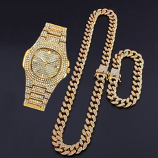 DIAMOND, icedoutchain, Jewelry, gold
