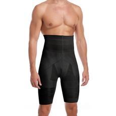 Box, highwaistshapingshort, Underwear, mens underwear