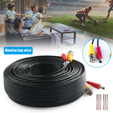 150ft Power Video Security Camera Cable BNC Extension Wire Cord for All CCTV DVR