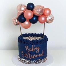 Baby, decoration, ballooncaketopper, Shower