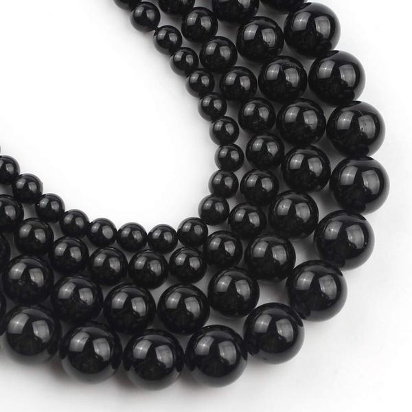 Tourmaline Round Beads 6mm Mixed 62 Pcs Gemstones DIY Jewellery Making Crafts