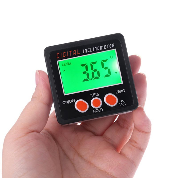 Digital Inclinometer Electronic Protractor Bevel Box Angle Meter Measuring tool