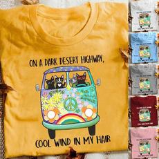 Plus Size, print shirt, Tops, short sleeves