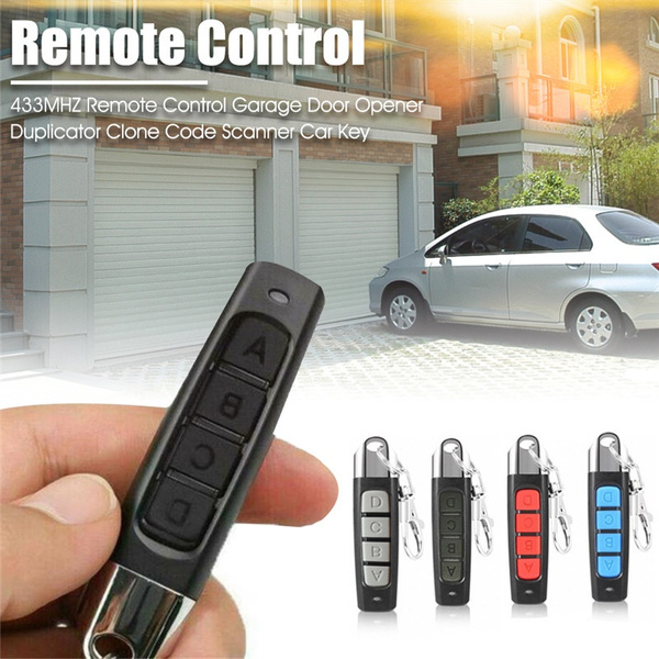 433MHZ Garage Door Opener Remote Control Duplicator Car Key Clone Code Scanner