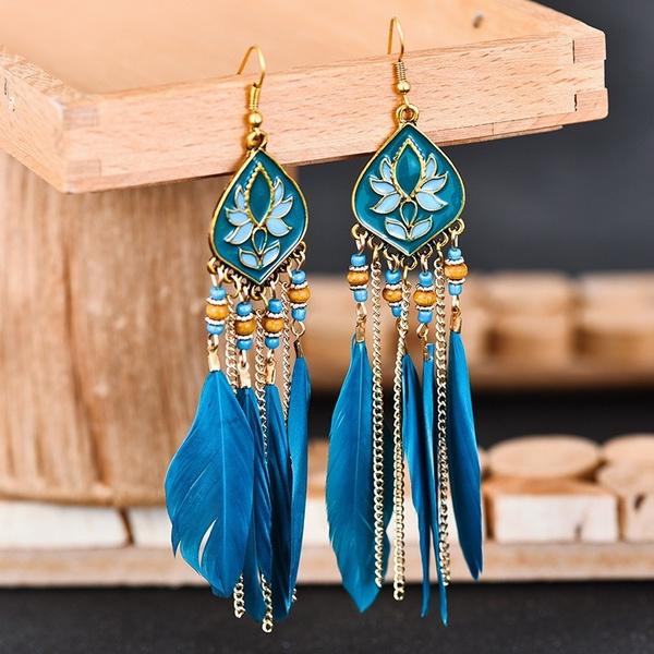 ethnicstyleearring, Exotic, Fashion, Dangle Earring