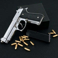 childsgift, Toy, pistol, Metallic