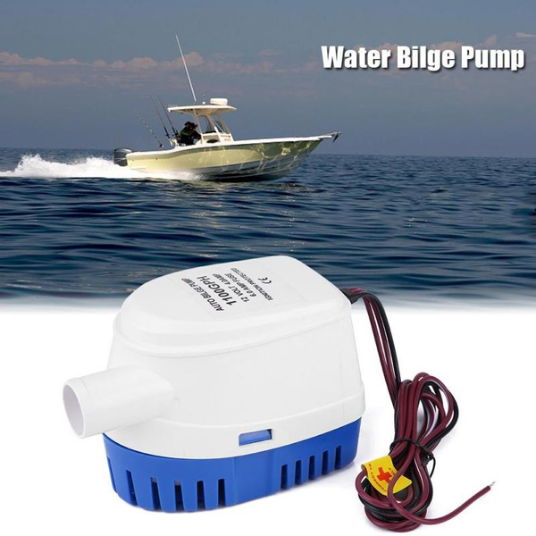 12V 1100GPH Automatic Submersible Boat Bilge Water Pump Auto with Float Switch