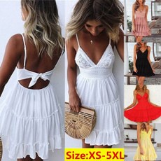 Summer, summer dress, pleated dress, Lace