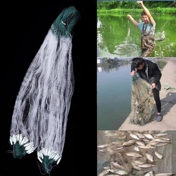 Outdoor, fishinggillnet, silknet, fish