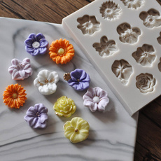 caketool, Flowers, Sunflowers, Silicone