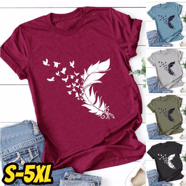 Summer, Funny T Shirt, short sleeves, Women's Fashion