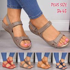 comfortablesandal, Sandals & Flip Flops, Plus Size, Summer