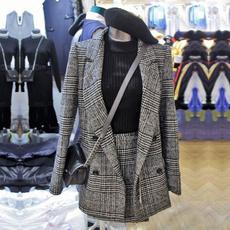 plaidtweedskirt, plaid, Fashion, Sleeve