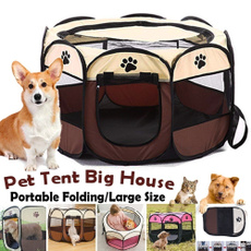 playpen, Exterior, dogkennel, dog houses