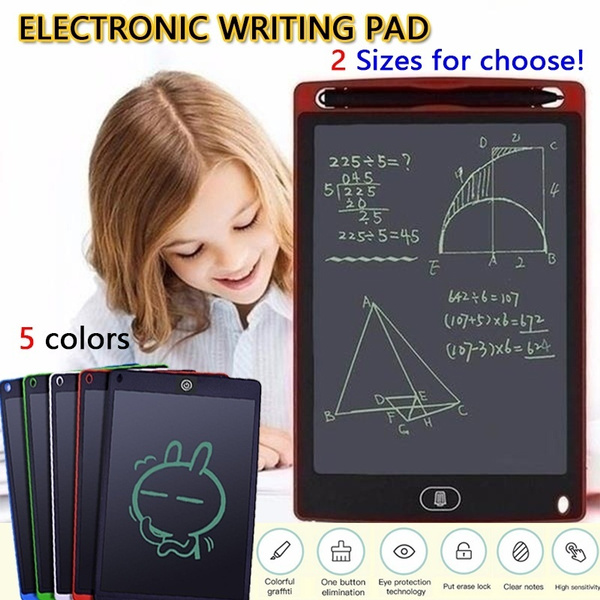 edited 8.5 in LCD Tablet Writing Board Childrens Drawing Board Graffiti Board Graphics Tablets