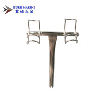 316 STAINLESS STEEL 3-in-1 ROD HOLDER 3-WAY BOAT SNAPPER FISHING PORT SIDE