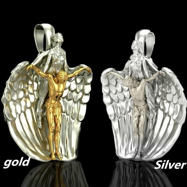 angelnecklace, Fashion, jesus, Jewelry