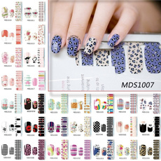 nail stickers, Flowers, Beauty, Waterproof