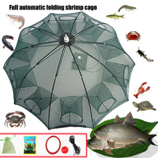 Foldable, shrimpcage, fishingcage, Nylon