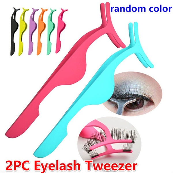Makeup, eye, Extension, Tweezers