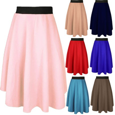 summer skirt, looseskirt, ladiesskirt, Skirts
