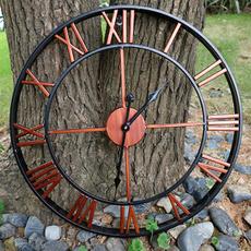 bracketclock, Outdoor, Garden, Clock