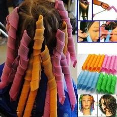 Hair Curlers, Salon, Fashion, Magic