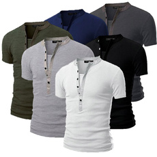Mens T Shirt, slim, Shirt, Sleeve