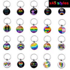 rainbow, keyholder, Key Chain, Jewelry