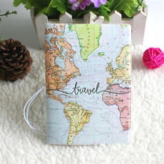 Map, Protective, Wallet, leather