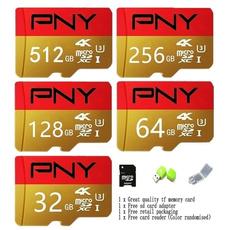 Memory Cards, golden, usb, Adapter