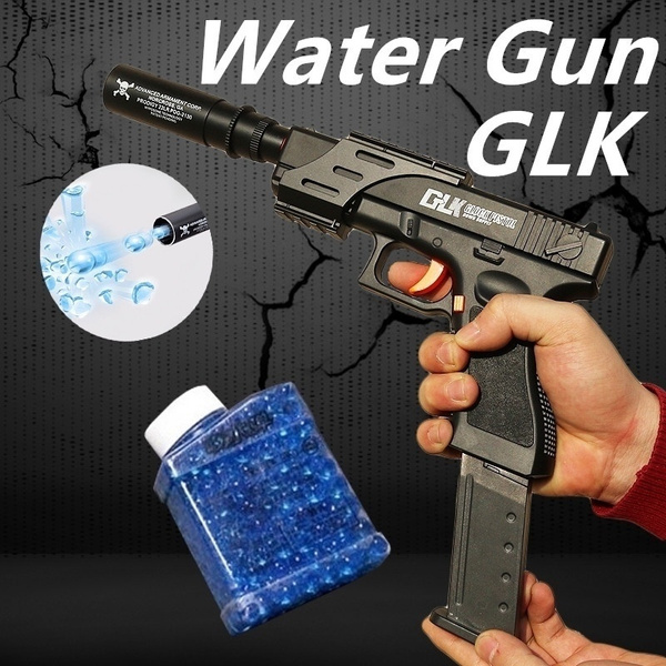 Water Bullet Gun Soft Bullet Crystal Bomb Toy Bubble Children S Water Gun Outdoor Shooting Toys Include 10000 Pcs Water Bomb Geek