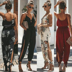 Plus Size, Jumpsuits & Rompers, V-neck, playsuit