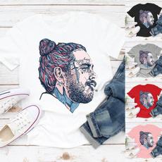 Tops & Tees, shortsleeveshirtforwomen, Shirt, postmalone