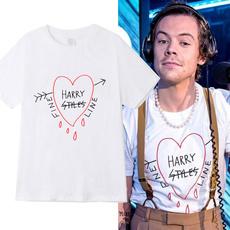 short sleeves, Fashion, Love, Shirt