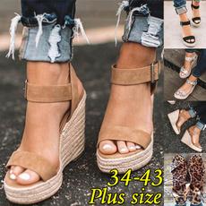 casual shoes, wedge, Sandals, Platform Shoes