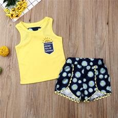 Summer, Vest, Shorts, Tops
