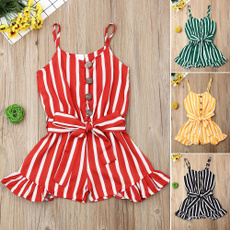 Rompers, Summer, Baby Girl, Clothes