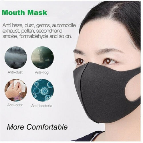 blackmouthmask, Fashion Accessory, mouthmask, Elastic