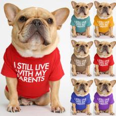 cute, Plus Size, letter print, dog shirts