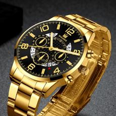 Chronograph, quartz, business watch, Classics